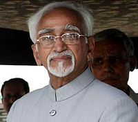Hamid Ansari elected as Vice President.