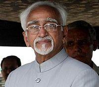 Hamid Ansari elected as Vice President.